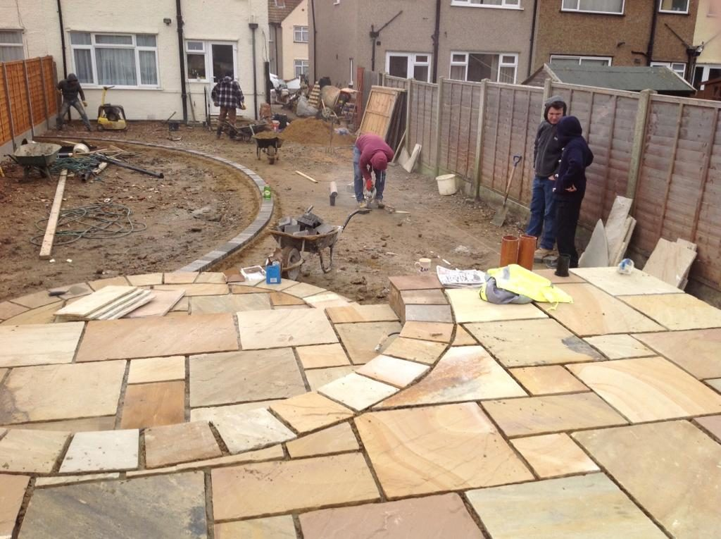 Paver Abbots Langley